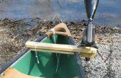 Hoe maak je een kano Motor Mount
