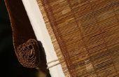 Hoe te Restring een houten Roman schaduw