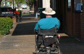 Hoe Strap een rolstoel in een rolstoel-busje