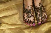 Het gebruik van Henna poeder