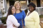 Schouder lengte kapsels voor Plus-size vrouwen