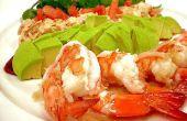 Hoe maak je de Avocado en garnaal salade