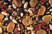 Foods hoog in ijzer en vezels
