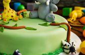 Hoe maak je een Cake van de kindverjaardag olifant