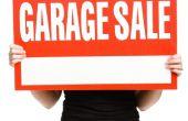 Hoe meer geld te verdienen met een Garage Sale