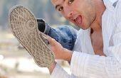 Hoe om schimmel een zool van de schoen