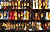 Hoe te zetten van nikkel teen Caps op laarzen