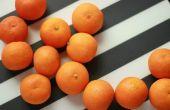 Hoe bewaart u Clementine sinaasappelen