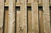 Hoe te voorkomen dat kromtrekken & splitsing van hek Boards