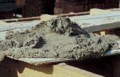 Hoe om te mengen van Portlandcement met zand