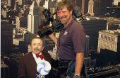 Hoe om te schieten een nieuwsbericht van de televisie