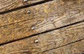 Bed Bugs droeg in hout?