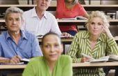 How to Get financiële steun voor een volwassene die terug naar School