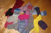 Hoe vindt u verloren sokken in wasmachines