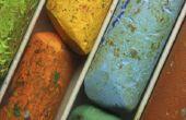 Hoe te schilderen van bomen met Pastels