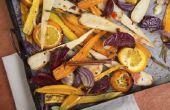 Hoe gebraden groenten op het fornuis