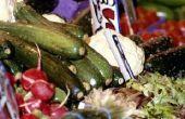 Hoe te eten van de bladeren van de courgette