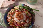 Wat voor soort gerechten maak ik voor de Lunch met garnalen?