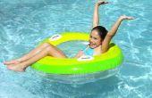 Hoeveel Water zit er in een 15-voet met de 4-foot zwembad?