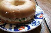Hoe om te roosteren een bagel