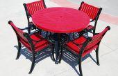 Hoe te herstellen van de terras stoelen