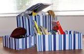 Hoe maak je een Toy Box van karton