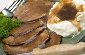 Hoe maak je bruine jus zonder gebruik te maken van overgebleven vlees vet