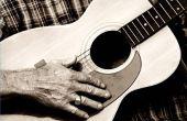 Hoe om te leren van de gitaar door nummers