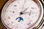 Het instellen van de datum & tijd op een horloge van Genève