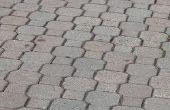 How to Make betonnen straatstenen met een glanzende afwerking
