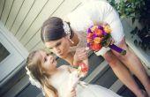 Het plannen van een bruiloft achtertuin op een begroting