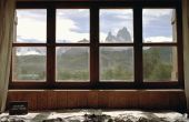 How to Install het Rubber op glazen huis ramen