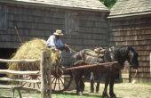 Amish landbouw Tools