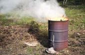 Hoe maak je een veilig branden vat