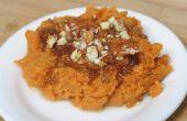 Hoe te bevriezen van zoete aardappel Casserole