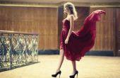 Wat make-up voor gebruik met een rode Prom jurk