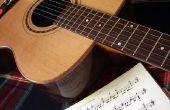 Het lezen van bladmuziek op de gitaar voor Beginners