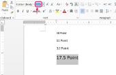 Hoe lettertypen groter maken
