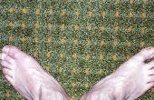 Hoe te verwijderen van gele Urine vlekken uit tapijt