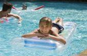 Hoe te stoppen met zwembad Water draaien groen