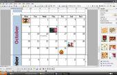 Hoe om te personaliseren een maandkalender met behulp van Word