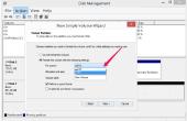 Hoe te formatteren van een harde schijf met Windows 8