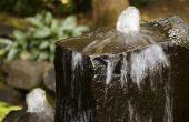 How to Build een waterval in beperkte ruimte