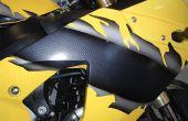 Hoe te verwijderen van de motorfiets Decals
