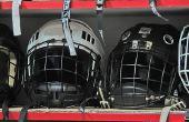 Zelfgemaakte Peroxide en azijn desinfecterende Spray voor Hockey apparatuur