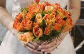 Waarom draag bruiden bloemen?