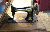Hoe om te achterhalen of een Singer naaimachine Is een antiek?