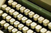 Gelijkenis & verschillen van een Computer & typemachine