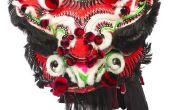 Hoe maak je een masker van de draak kartonnen doos voor Chinees Nieuwjaar