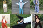 Schattige DIY dierlijke kostuums voor kinderen